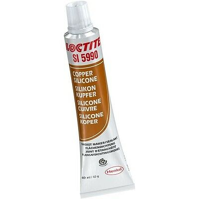 Loctite Silicone Gasket Maker Copper High Temp Resistant 40ml