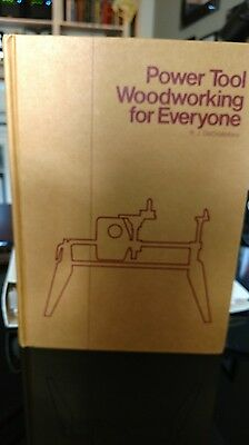 Shopsmith Power Tool Woodworking for Everyone by RJ DeCristoforo Hard Book