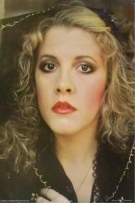 STEVIE NICKS ~ FACE PORTRAIT 24x36 MUSIC POSTER Fleetwood Mac NEW/ROLLED!
