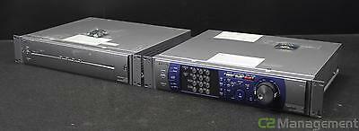 Panasonic WJ-HD316A Digital Recorder DVR w/WJ-HDE300 Extension Unit NO HDD