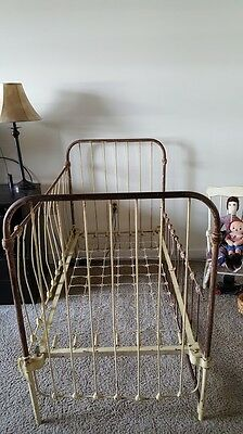 Vintage And Antique Baby Crib Iron Must See