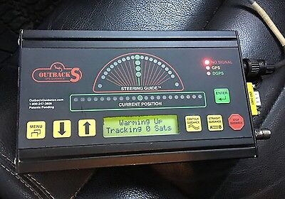 Outback S Precision Agriculture GPS Guidance System Main Unit Machine READ