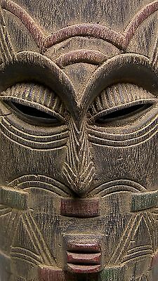 A Fine and Beautiful TETELA - TEMPA SONGYE Mask from Dem. Rep. of CONGO