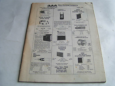 Vintage 1982 Aaa Distributing Company Catalog/price Guide