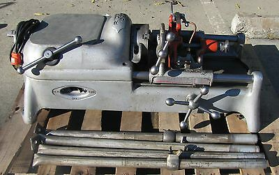 "Ridgid 500 ¼"" to 2"" Pipe & Bolt Threader Threading Machine AS IS 300 1822 535"