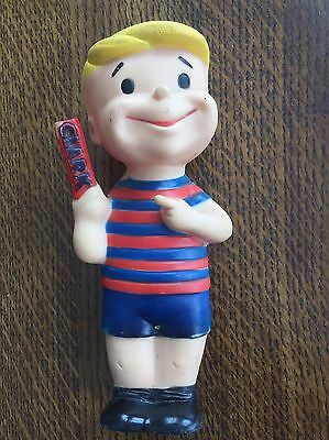 1960's CLARK BOY CANDY BAR VINYL ADVERTISING FIGURE!! VINTAGE!!