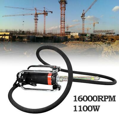 Electric Hand Held 16000 RPM Concrete Vibrator Remove Bubbles & Level Concrete