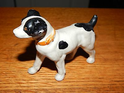 VINTAGE 1950s Jack Russell Terrier DOG FIGURINE MADE IN JAPAN