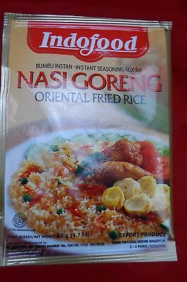 5 Pack of IndoFood - Nasi Goreng Oriental Fried Rice - Free Postage - 50 gram