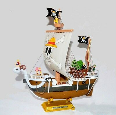 Anime Hobby Going Merry Model Ship One Piece Grand Ship PVC Figure Toy Gift Set