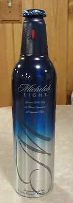 2006 Michelob Light Aluminum Bottle Beer Can #500277 No Refund