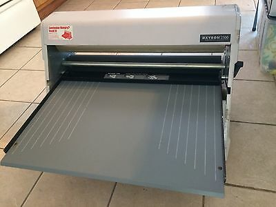 "Xyron 2500 25"" Cold Laminator with 2 Almost Full Rolls"