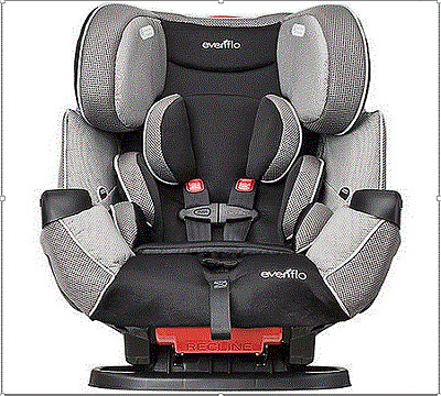 Car Seat Safety Baby Infant New Toddler All-in-1 Evenflo Symphony Convertible