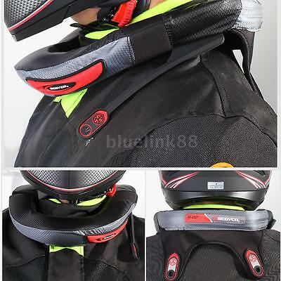 Racing Motocross Motorcycle Neck Protector Adult Neck Guard Collar Brace A9V3