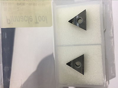 2pcs TNMA / TNMG160404 PCD for Aluminum / copper Polycrystalline diamond tools