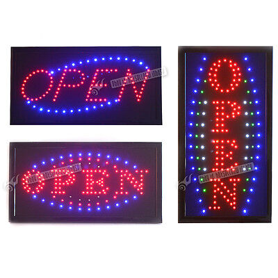 48Cm Led Open Sign/Electric Board/Light/Hanging For Wall/Glass Window/Shop/Cafe