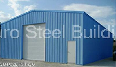 DuroBEAM Steel 30x50x14 Metal Building Shed Kit Garage Workshop Structure DiRECT
