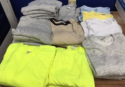 Sublimation Blanks pkg #4- Lot of Various Shirts for Dye Sublimation