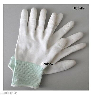 Quilters Free Motion Deluxe Finger Grip Gloves Sewing Quilting Embroidery SMALL