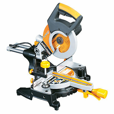 Evolution Rage 3S 210mm Tungsten Carbide Tip Multipurpose Sliding Mitre Saw 240V