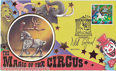 2002 Circus - Benham Small Silk - Signed by NEIL GIFFORD
