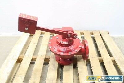 Kimray 36 FWA Liquid And Gas Treater 3 In Iron Flanged Valve