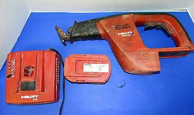 HILTI WSR 650-A  24V Cordless Reciprocating Saw w/ Charger & Batteries