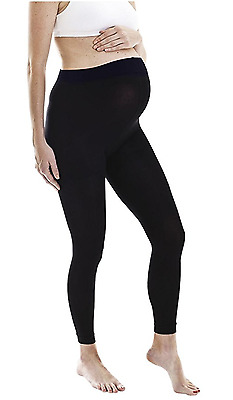 NEW! Maternity Yoga Pants Leggings with Comfy Fold over waist band