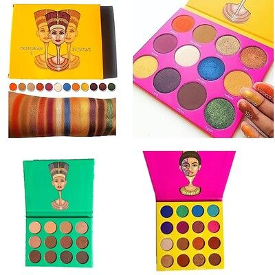 Juvia's Place Nubian 2nd Edition Eyeshadow Shimmer Eye Shadow Pro Palette Makeup
