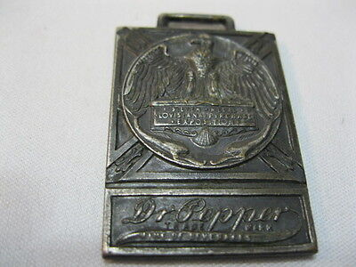 Dr Pepper Watch Fob From The Early 1920's