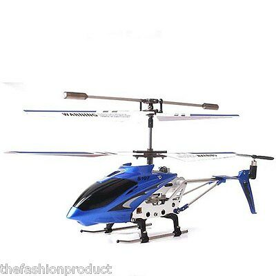 Syma 3CH LED RC Hélicoptère Alloy Copter RC Hobby Avion Helicopter Radio Control