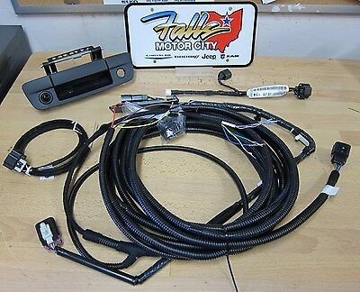 2013-2017 Ram 1500 2500 3500 Backup Camera Kit For RA2 RA3 RA4 Radios Mopar OEM