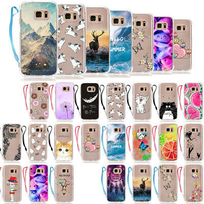 KCWH Shockproof Soft Cover Case For Samsung Galaxy S7 Edge A3 A510 A7 J3 J510 J7