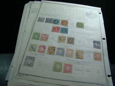 Bavaria Excellent Old Collection Mint & Used On Pages Nice!!