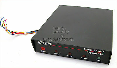 Zetron Model 37 MAX  Remote Programmable Repeater Pane Pal