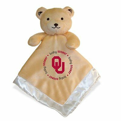Oklahoma Sooners Baby Infant College Snuggle Security Blanket (FREE SHIPPING)