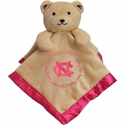 North Carolina Tar Heels Baby Girl Pink Snuggle Security Blanket (FREE SHIPPING)
