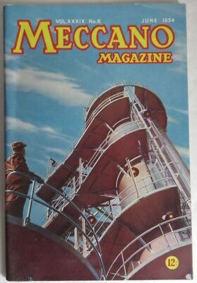 1954 Meccano Magazine - June                 (Inv13178)