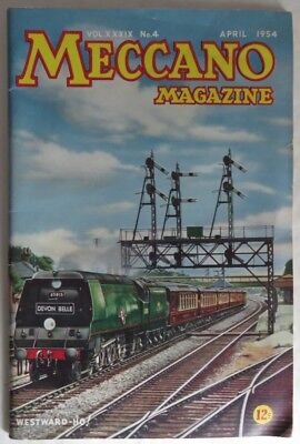 1954 Meccano Magazine - April                 (Inv13179)