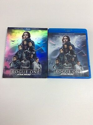 Rogue One: A Star Wars Story (Blu-ray + Digital HD ONLY)*NO DVD** PLEASE READ!!