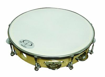 New GP TP-108 Percussion Professional Tunable Tambourine