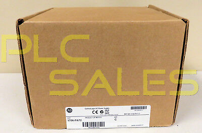 Allen Bradley 1756-PA72 /C  |  ControlLogix Power Supply - Mfg 2014  *NIBFS*