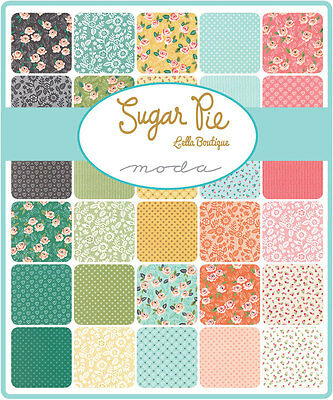 Patchwork/quilting Fabric Moda Charm Squares/packs - Sugar Pie