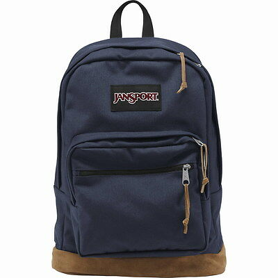 New 100% Authentic JANSPORT RIGHT PACK TYP7003 NAVY Backpack