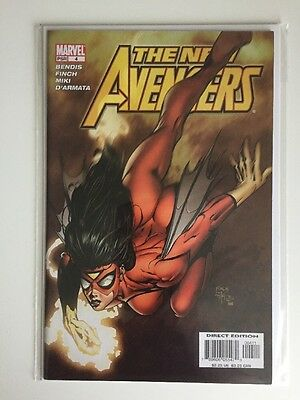 THE NEW AVENGERS #4 MARVEL COMICS 1st Appearance Maria Hill FIRST PRINT