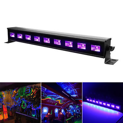 27w uv led bar 9x led black light wall stage lighting dj disco party christmas