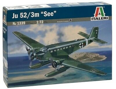 Italeri: 1:72 Ju 52/3 m ''See'' Floatplane - Model Kit