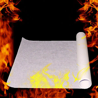 5/10PCS Pro White Magic Flash Paper Torch To Rose Fire Flame Props Magic Tricks