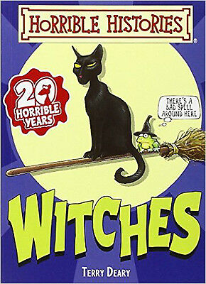 Witches (Horrible Histories Handbooks), New, Deary, Terry Book