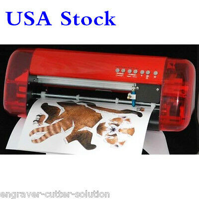 USA Stock!! A3 CUTOK Vinyl Cutter Sign Plotter with Contour Cut Function